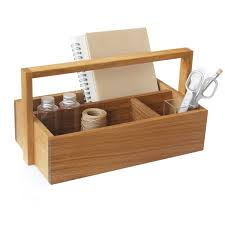 Wooden Tool Box From Side By Side In The Shop