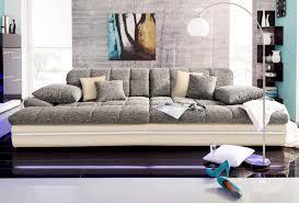 via big sofa wahlweise mit kaltschaum 140kg belastung sitz und rgb led beleuchtung