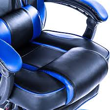 Reclining Gaming Chair With Footrest by Killabee Racing Pc Gaming Chair Ergonomic High Back Reclining