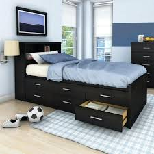 bookcase south shore summer breeze twin mates bed with bookcase