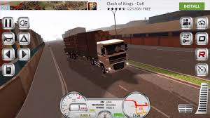 Euro Truck Driver Simulator : Gameplay On IOS - YouTube