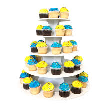 The Smart Bakers 2 In 1 Round Cupcake Tower