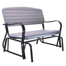 Arlington House Jackson Patio Loveseat Glider by Metal Patio Furniture Patio Chairs Patio Furniture The Home