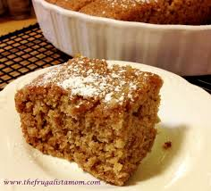 Celebrate Fall with a Gluten Free Vegan Applesauce Spice Cake
