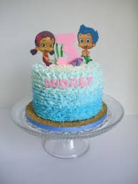 Bubble Guppies Bathroom Decor by Bubble Guppies Buttercream Ruffle Cake Omg Love This Use Real