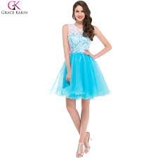 online get cheap light blue cocktail dresses aliexpress com