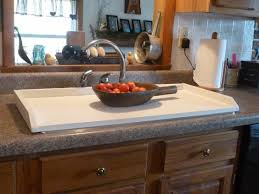 white sink cover country kitchen tray wooden tray stove top