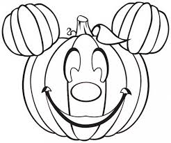 Free Disney Halloween Coloring Pages For