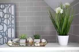 badezimmer deko gra 1 4 n design mit grau und schones grun