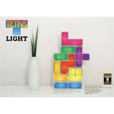 Tetris Stackable Led Desk Light by Tetris Stackable Led Desk Lamp Light Jigsaw Puzzle Constructible