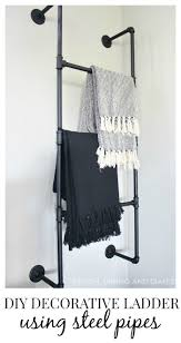 Decorative Towels For Bathroom Ideas by Best 25 Ladder Towel Racks Ideas On Pinterest Ladder With