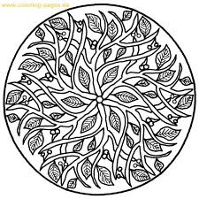 Mandala Coloring Pages Adults Free Design Patterns Designs