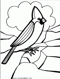 Tweety Bird Coloring Pages Of Birds