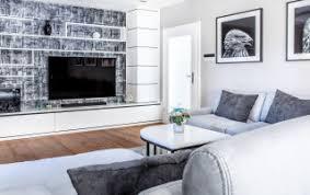 wandgestaltung für wohnzimmer ideen und design
