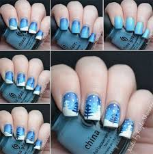 15 Best Step By Step Winter Nail Art Tutorials For Beginners