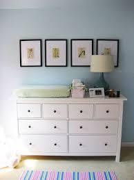 hemnes dresser as changing table love nursery ideas pinterest