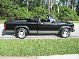Anybody Ever Heard Of This? Factory Convertible Dodge Dakota Pickup?