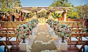 Outdoor Wedding Ceremony Decor Concept