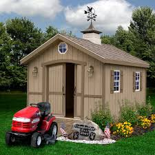 10x12 Gambrel Shed Material List by Amazon Com Best Barns Cambridge 10 U0027 X 12 U0027 Wood Shed Kit Patio