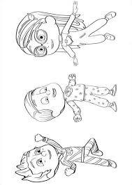 Print This Owlette Coloring Page Href Kleurplaatjes Pj Masks