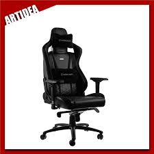 ^ Noblechairs EPIC Gaming Chair - BLACK/GOLD | NBL-PU-GOL-001 | ARTIDE Noblechairs Epic Gaming Chair Black Npubla001 Artidea Gaming Chair Noblechairs Pu Best Gaming Chairs For Csgo In 2019 Approved By Pro Players Introduces Mercedesamg Petronas Licensed Epic Series A Every Pc Gamer Needs Icon Review Your Setup Finally Ascended From A Standard Office Chair To My New Noblechairs Motsport Edition The Most Epic Setup At Ifa Lg Magazine Fortnite 2018 The Best Play Blackwhite