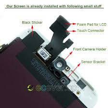 OEM for iPhone 5 LCD Screen Display Touch Digitizer bo