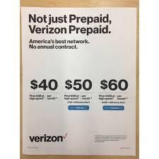 Verizon Prepaid Walmart Exclusive 2 GB Bonus Data Plans $50 9 GB