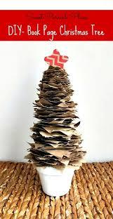 Trashtastic Tuesday DIY Rustic Brown Paper Christmas Tree