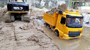 Dump Truck Videos | Excavator For Children | Car Toys | ABC Bi Bi ...