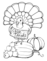 Thanksgiving Coloring Pages Turkey Printable