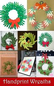 Arts And Crafts For Toddlers Christmas Wreath Kids Children Art Projects