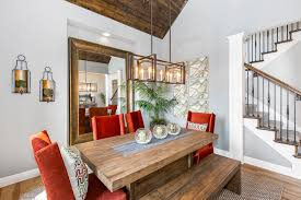 Transitional Dining Room Photo In Kansas City