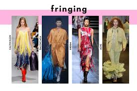 Summer Fashion Trends 2018 Fringing