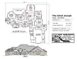 3 Or 4 Bedroom Houses For Rent by The Chief Joseph Md0504 Peak Home Design Oregon