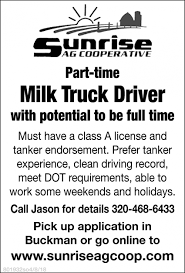 Milk Truck Driver, Sunrise Ag Cooperative, Buckman, MN Sample Resume For Truck Driver With No Experience Valid Cover Letter Cdl Template Objective Driving Academy Catalog Cv Format For Driver Job Sample Resume Truck Drivers Awesome Fresh School Requirements Gezginturknet Stock Sweepers Takes More Dafs News Watts And Van Swansea Hds Institute Tucson Az Admission Quirements Stibera Rumes Beautiful Duties Cesecolossus Free Samples Download 12 New How To Become A Trucking Good Know Tech Has List Of Schools Best Image Kusaboshicom