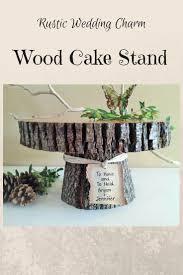 10 Rustic Wedding Cake Stand
