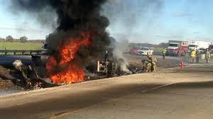 100 Tanker Truck Explosion Truck Explodes Killing Driver In Threesemi Crash