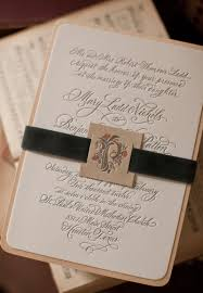 Mary Bens Elegant And Rustic Letterpress Wedding Invitations