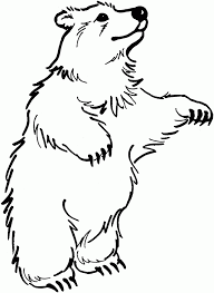 Viewing Gallery For Black Bear Coloring Page 149037 Polar