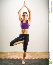Yoga Tree Pose Stock Photo Image Of Barefoot Body Fitness