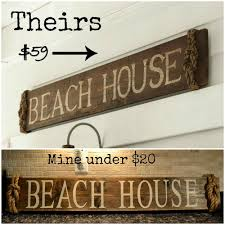 Pottery Barn Inspired Beach Sign | Pottery Barn Inspired, Pottery ... Warren House Numbers Rejuvenation Pottery Barn Knockoff Moss Letters Blesser Fniture Sonoma For Versatile Placement In Your Room Fun Ideas Tree Bed Best House Design Design Impressive Office With Mesmerizing Knockoff Noel Sign Living Rich On Lessliving 6 Modern Mayfair Sconce Way Cuter Than A Floodlight 4 Two It Yourself Diy Number Sign And How To Drill Into Brick Inspired Beach Barn Inspired