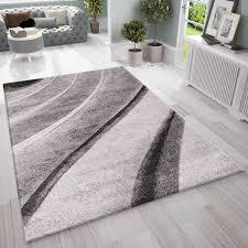 designer moderner wellen teppich wohnzimmer inneneinrichtung neu vimoda homestyle