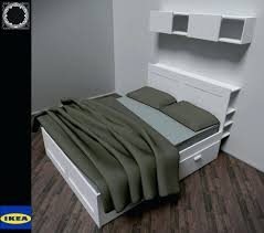 Ikea Brimnes Bed Instructions by Ikea Brimnes Bedside Table Assembly Tables Black Instructions