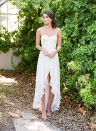 discount destination lace wedding dresses casual short front long