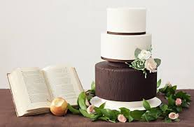 Woodgrain Wedding Cake By Miso Bakes Sylvia G Photography