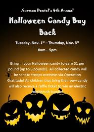 Operation Gratitude Halloween Candy Buy Back by Affordable Dental Care In Greensboro Nc Norman Dental