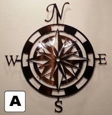 Metal Wall Art Rose