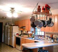 breathtaking kitchen overhead pot rack galleries fantastic pot