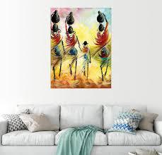posterlounge wandbild afrikanische frauen beim wasserholen kaufen otto