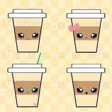 Kawaii Coffee Clip Art
